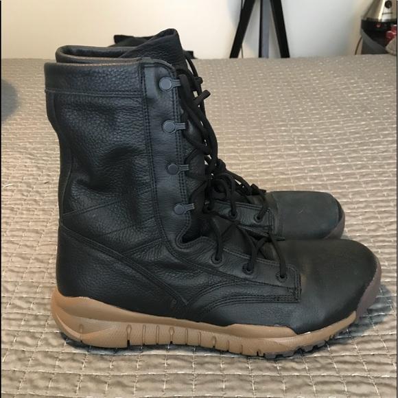 "free shipping 86bda 51d0b Nike SFB Field 8"" Leather Boot Black Brown Size 13.  M 5b57c6932e1478d1cac3d0b4"